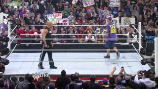Raw: The Rock and John Cena confront one another