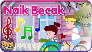 Lagu Naik Becak | Diva bernyanyi | Diva The Series Official