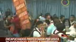 getlinkyoutube.com-Santos expulsado de la Universidad Santiago de Cali