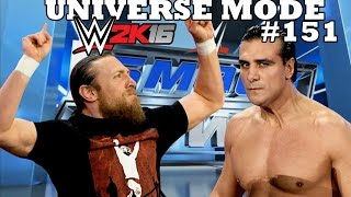 WWE 2K16 UNIVERSE MODE #151  THE YES MAN VS. EL PATRON !