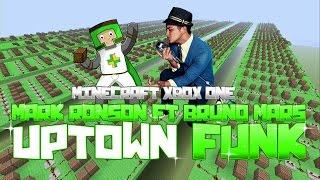 getlinkyoutube.com-Mark Ronson ft Bruno Mars - Uptown Funk | ♫ Minecraft Xbox One Noteblock Song ♫ |