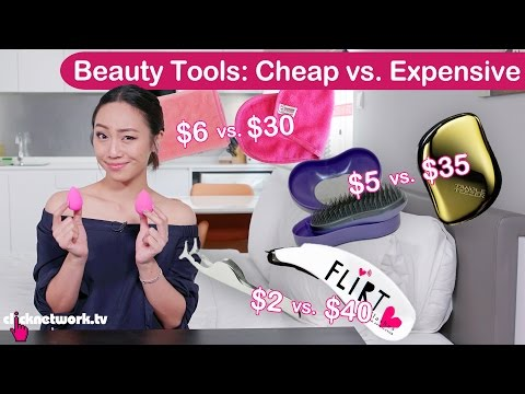 Beauty Tools: Cheap vs. Expensive - Tried and Tested EP107