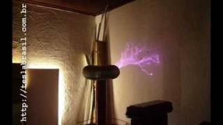 getlinkyoutube.com-Project Virgilio  -  NST Tesla Coil