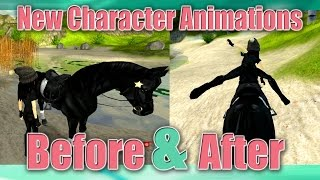 getlinkyoutube.com-✔ BEFORE & AFTER New Character Animations Star Stable