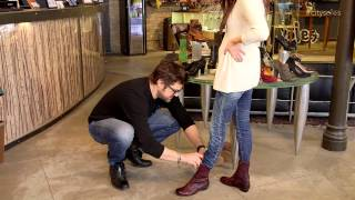 getlinkyoutube.com-Wearing Skinny Jeans With Boots | How-To | City Soles TV