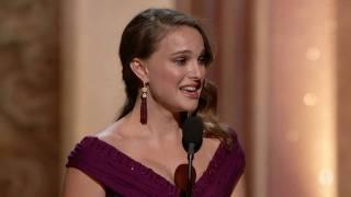 getlinkyoutube.com-Natalie Portman winning Best Actress