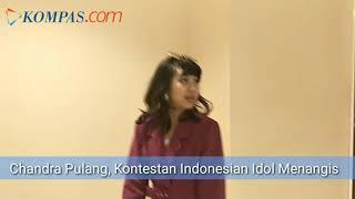 Dibelakang Panggung Indonesian Idol, Kontestan Tangisi Kepergian Chandra