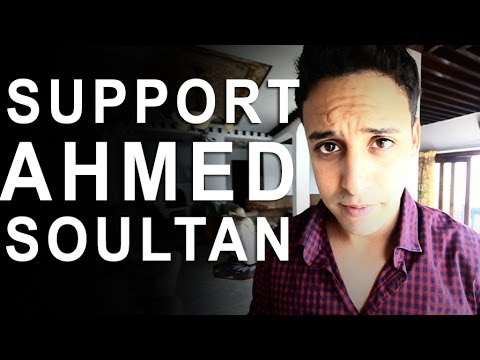 SUPPORTEZ AHMED SOULTAN, SUPPORTEZ L'ART MAROCAIN - MTV EMA 2013 - YASSINE JARRAM