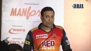 V.V.S Laxman - Sunrisers Hyderabad , Team Mentor