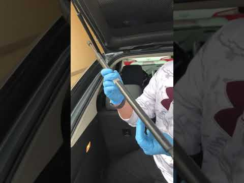 2013 Chevrolet Volt Lift Gate support replacement