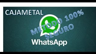 getlinkyoutube.com-WhatsApp Sin Datos Y Sin Wifi Gratis Android 2014