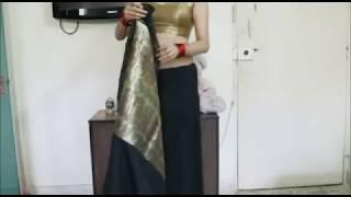 getlinkyoutube.com-How To Tie An Indian Saree:Step by Step Easy Sari Wearing Tutorial