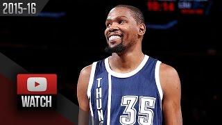 getlinkyoutube.com-Kevin Durant Full Highlights at Knicks (2016.01.26) - 44 Pts, 14 Reb, UNREAL!
