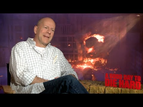 Bruce Willis Interview for DIE HARD 5: A GOOD DAY TO DIE HARD