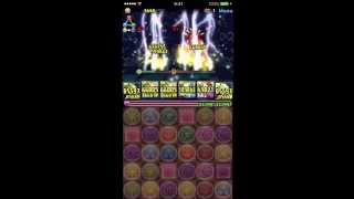 getlinkyoutube.com-【パズドラ】新ゲリラ・星宝の魔窟を色々試した動画