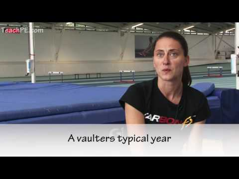 How to Pole Vault - different types of training