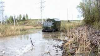 getlinkyoutube.com-Шишига арочная 2!  ГАЗ 66 на арочных колесах 1140х600