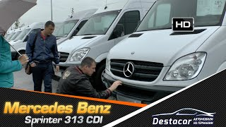 getlinkyoutube.com-Mercedes Benz Sprinter 313CDI  Maxi, часть 1