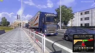 getlinkyoutube.com-Euro Truck Simulator 2 - Volvo FH16 Gameplay