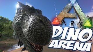 getlinkyoutube.com-Ark Survival Evolved Gameplay - Dino Arena V2 - All Guns, All Dinosaurs - Mod Spotlight