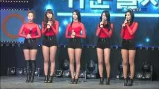 getlinkyoutube.com-130530 Korean Forces Network - EXID / Whoz That Girl