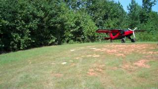 getlinkyoutube.com-Highlander Demo Flight - Just Aircraft Factory Grass Strip