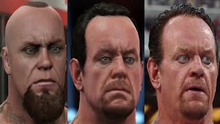 WWE 2K16 Ultimate Comparison: WWE 2K16 vs WWE 2K15 vs Real Life Face Graphics Screenshot Comparison!