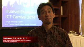 getlinkyoutube.com-Huawei Enterprise ICT Carnival 2014 - Interview with UGM