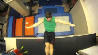 Sports - New Extreme Sport: Trampoline Wall