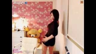 getlinkyoutube.com-20150521 BJ Ming Ming 밍밍 아프리카 댄스 Asian Girl Dancing Kpop pt1