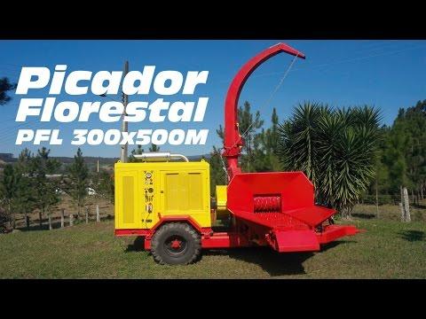 Picador de Madeira PFL 300 X 500 M