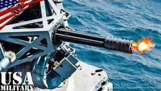 getlinkyoutube.com-ファランクス 近接防御火器システム (CIWS) - Phalanx Close in Weapon System (CIWS)
