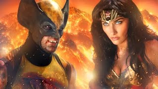 getlinkyoutube.com-WONDER WOMAN vs WOLVERINE - ALTERNATE ENDING  - Super Power Beat Down