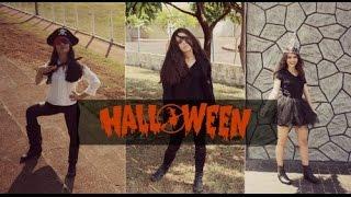 getlinkyoutube.com-DIY | Fantasias Improvisadas Halloween | Costume