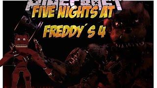 getlinkyoutube.com-EL MEJOR MOD DE Five Nights At Freddy´s 4 (FNAF 4 en Minecraft) Español Minecraft 1.7.10