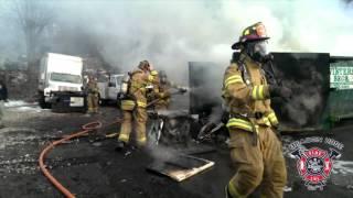 getlinkyoutube.com-Beacon Hose Responds to Dumpster Fire