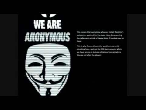 ANONYMOUS HACKING PS3 DOWN  APRIL 21/22/23 2011 ERROR CODE 80710A06