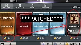 getlinkyoutube.com-(PATCHED, SEE DESCRIPTION) Injustice Mobile on Android (glitch): Multipacks and cheap packs
