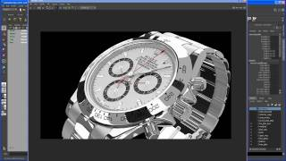Modeling tutorial in Maya - ROLEX DAYTONA watch - Part 1: introduction & scene setup