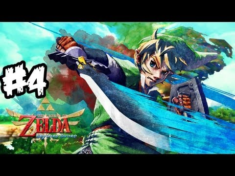The Legend of Zelda: Skyward Sword Walkthrough Part 4 HD - The Big Race! - Let's Play (Wii Gameplay)