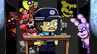 getlinkyoutube.com-FIVE NIGHTS AT FREDDY'S Animatronics Mod (Scribblenauts: Unlimited)