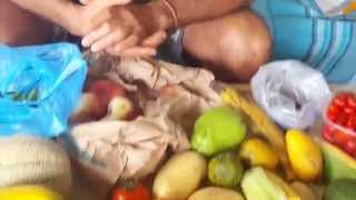 getlinkyoutube.com-Unboxing di Frutta tropicale dal mercato internazionale Esquilino