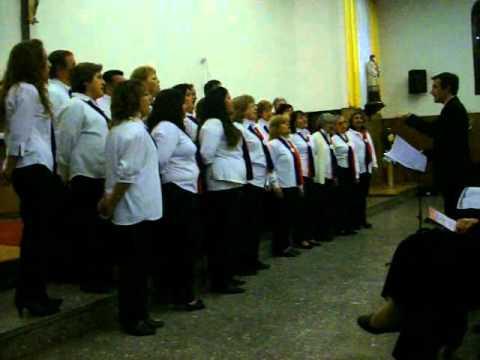 Ensamble coral del viso-derqui -Nostalgia Andina-Cancion de Caminantes - Dir.Juan Carlos Nos