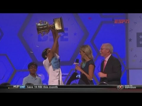 Spelling Bee: New York teen Arvind Mahankali wins US spelling bee with 'knaidel'
