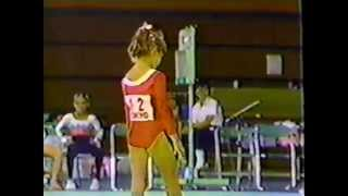 getlinkyoutube.com-1983 Intl. Jr.  Champs. gymnastics, women's EF Silivas Csisztu Kazakova