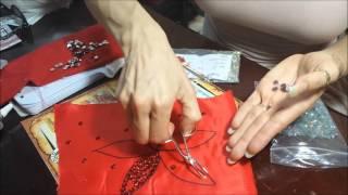 getlinkyoutube.com-bency como pegar las piedras a la ropa