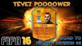 "getlinkyoutube.com-""TÉVEZ POOOOWER""!! ULTIMATE TEAM #3 | Road To 1 División | xXNachoGamerXx | FIFA 16"