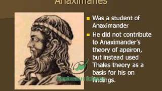 The Pre Socratic Philosophers