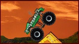 getlinkyoutube.com-Monster Truck Demolisher - Flash Game Walkthrough (24 levels)