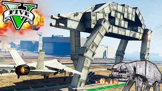 getlinkyoutube.com-BATALLA DE NAVES VS NAVE IMPERIAL EN GTA!! STAR WARS GTA V ONLINE Makiman